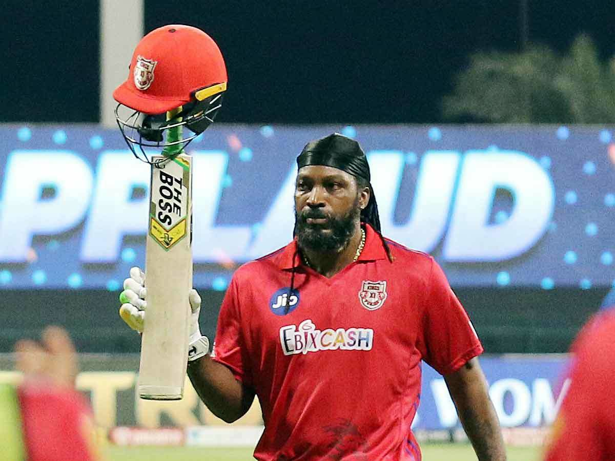 Chris Gayle's Name Was Recorded
